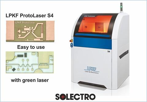 Kompakt lasersystem til elektroniklaboratoriet - Laserudstyr for PCB