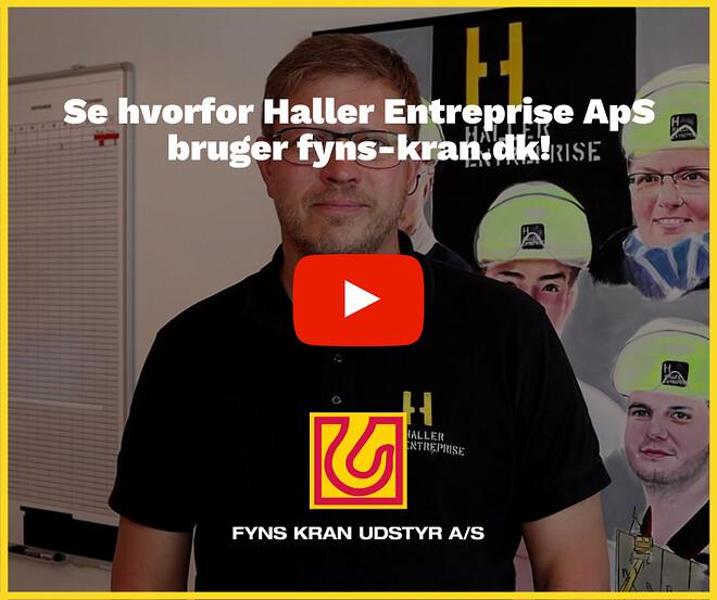 Se hvorfor Haller Entreprise ApS bruger fyns-kran.dk
