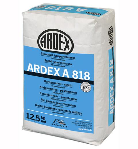 Hurtig spartling på vægge, facader og sokler med ARDEX A 818