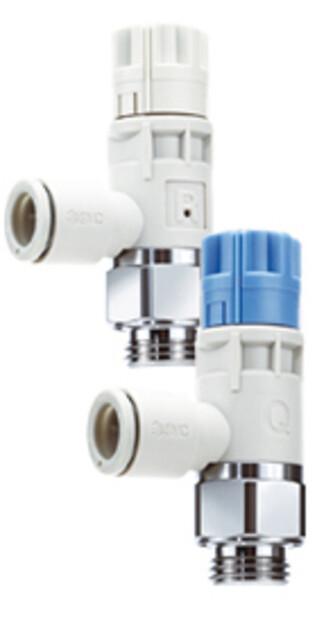 Ventilerne, der sparer op til 30% af din trykluft - AS-R & AS-Q fra SMC