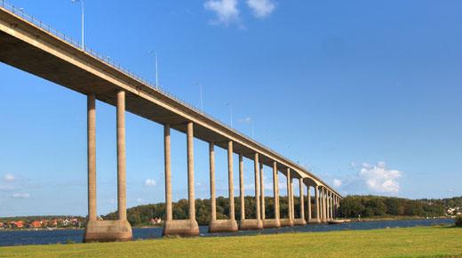 Reparation af Svendborgsundbroen afsluttes før tid - Building Supply DK