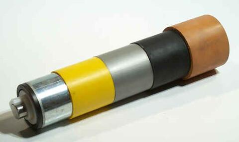 Belægninger Gummibelagte stålruller