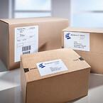 Forsendelsesetiektter i XL pakker - Avery