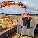 IBF, betonblokke, løftetang, leca termblokke, BSV, bsv krantilbehør