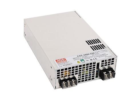 CSP 3000W Strømforsyning til UV udstyr - CSP-3000 strømforsyning fra MEAN WELL. Forhandler er Power Technic. Ring 70 208 210