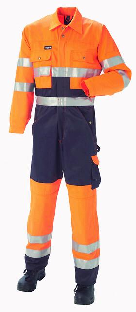 Outlet - kedeldragt, hi-vis, kl. 3, 11104 - orange/marine