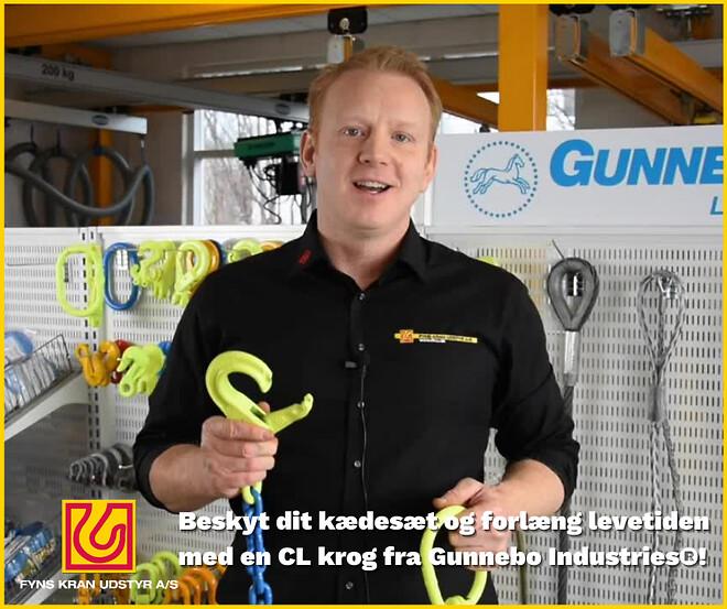 CL krog - gunnebo industries - fyns kran udstyr