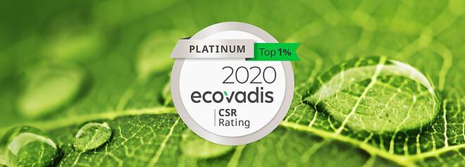 Prysmian opnår Ecovadis Platinum Level til 2020