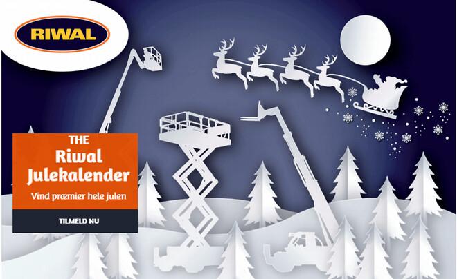 Konkurrence - deltag i årets julekalender ved Riwal liftudlejning