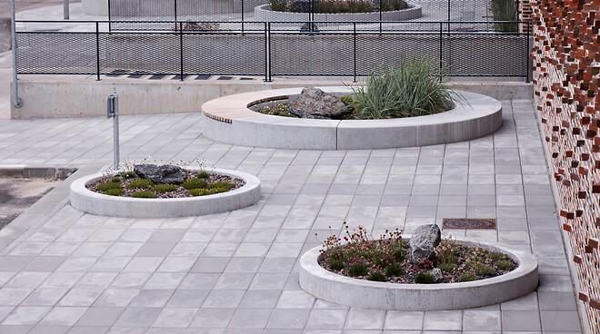 Specialfremstillet betonplinte