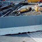 Deltabloc 80; bullerskydd, arbetsplats