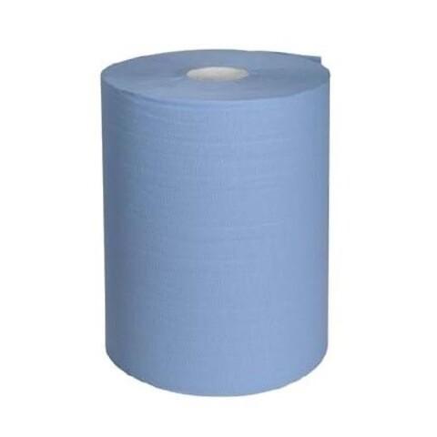 10 stk. Værkstedsruller, 2-lags, blå - værkstedsrulle aftørring aftørringspapir papir værkstedspapir avtørring rulle 2lags 2-lags