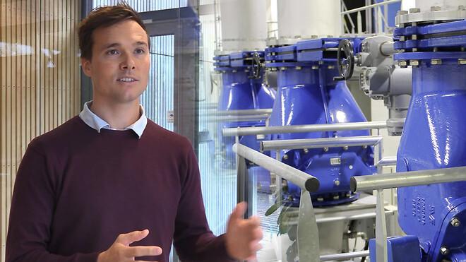 Renovering af filterpumpestationen på Ejby Mølle Renseanlæg, VCS med AVK-ventiler