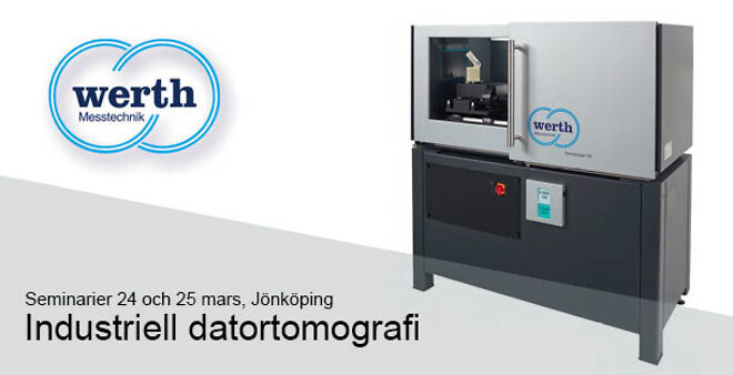 Werth Industriell Datortomografi