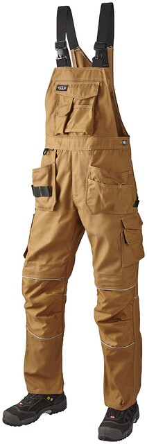 Canvas overall, camel - 1503