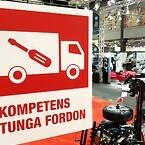 SUN Maskin & Service AB har kompetens för tunga fordon på Automässan 2020