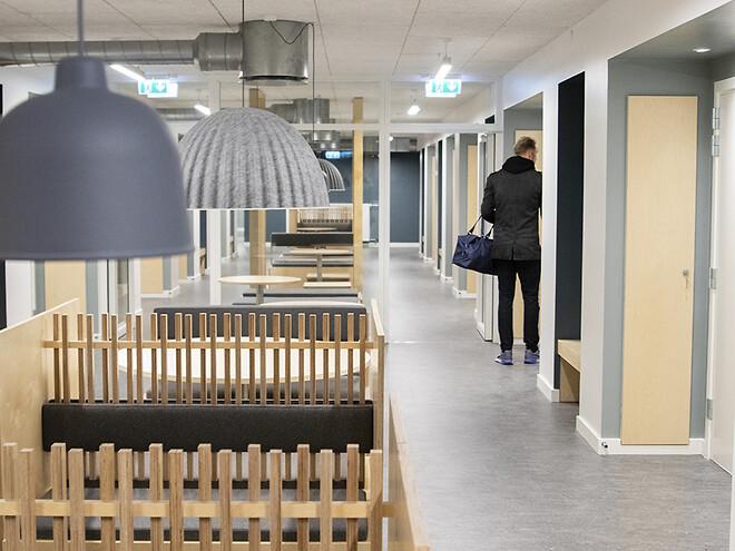 indretning kollegium fællesområder møbler erhverv