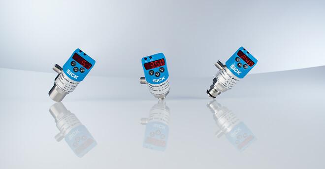Multifunktionel IO-Link-sensor til trykmåling, -styring og -overvågning\n
