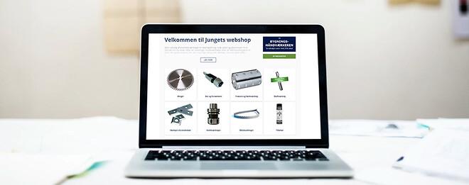 Besøg webshoppen på junget.dk