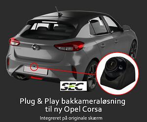 Opel Corsa 2020 bakkamera