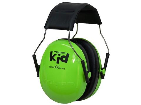 Høreværn peltor kid - neongrøn - 3M
