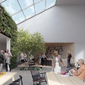 3. Huset Nyvang - Fællessalorangeri - Friis og Moltke