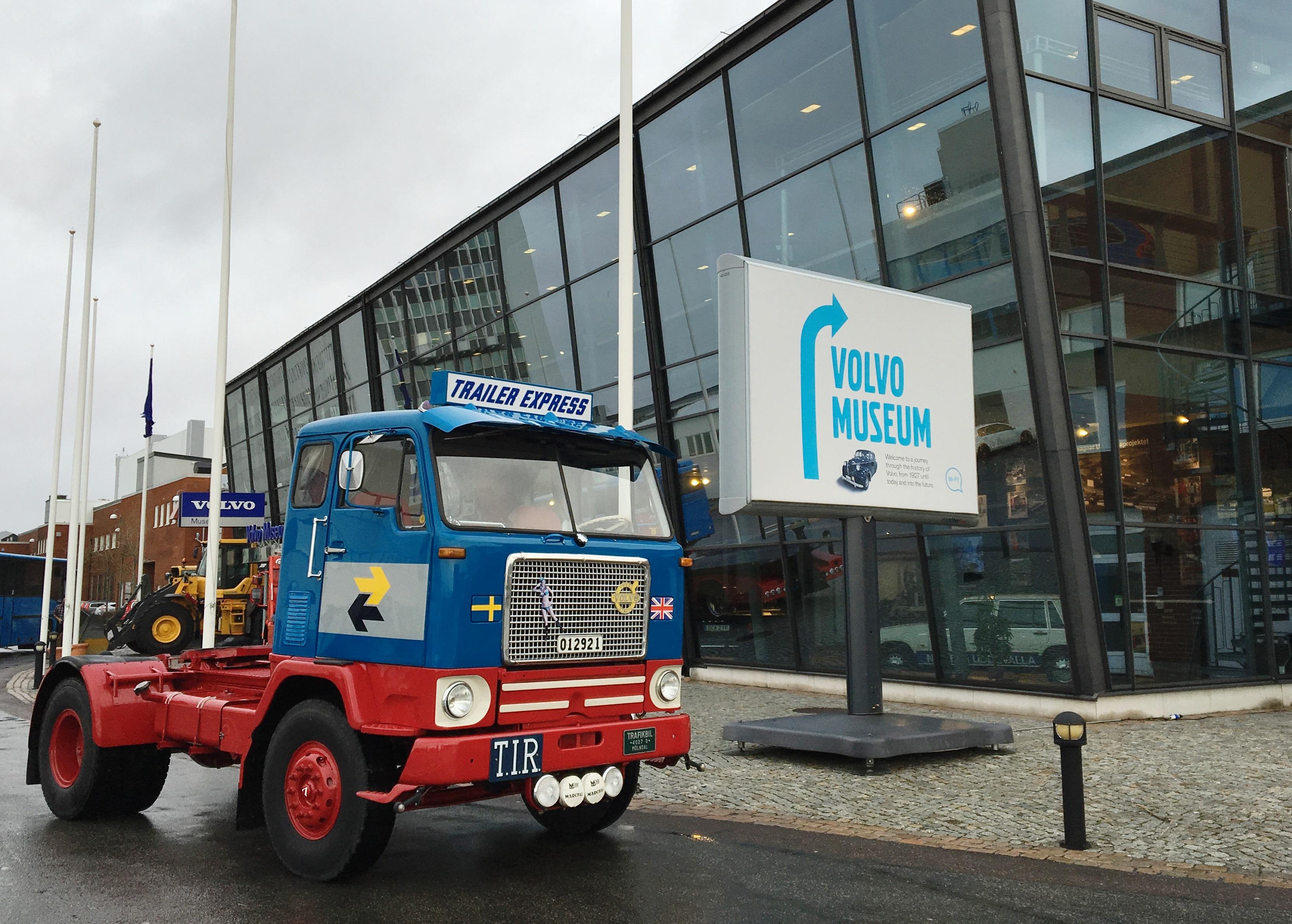 12f17c95fb7b Sjælden lastbil til Volvo-museets samling - Transportmagasinet