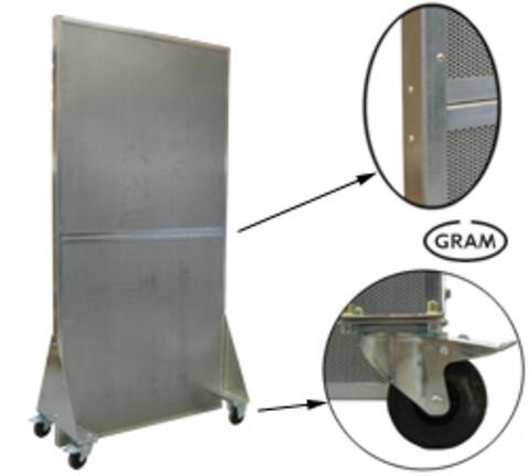 Støjvægs-modul SJ fra V. Å. Gram