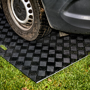 Starkere och styvare material än andra körplattor av plast