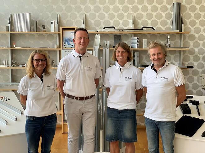 Försäljningen på Hydal Aluminium Profiler AB