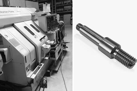 Effektiv CNC drejning af små emner kontakt Lars Broe Rustfri stål - CNC drejning af rustfri stål