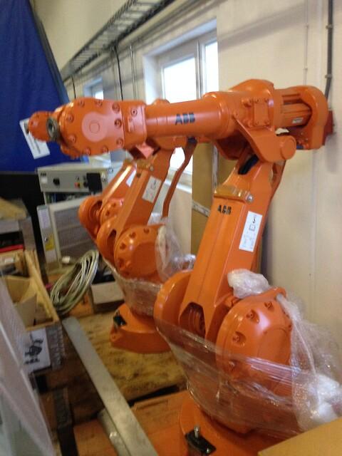 RobotNorge AS selger brukte ABB Industriroboter