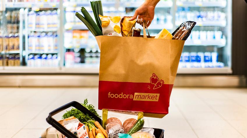 Foodora öppnar butiker i tre nya städer