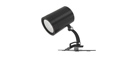 Flexibel, exklusiv LED-spot för butiker och restauranger