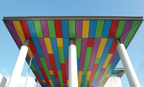 Rockpanel Colours - et  holdbart facadebeklædningsmateriale