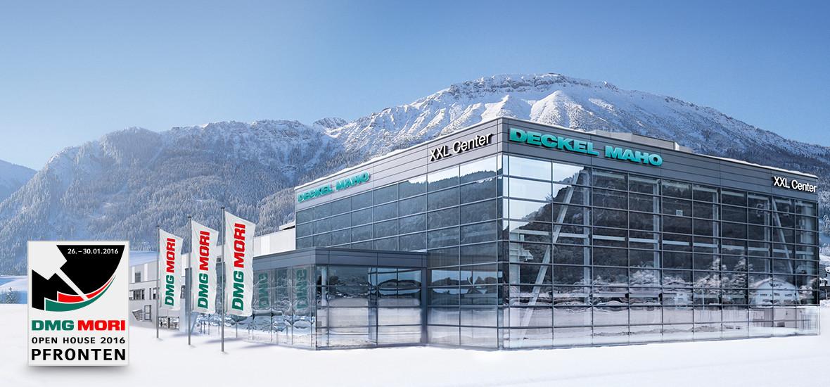 Dmg mori bent hus i pfronten januar 2016 metal supply dk for Pfronten deckel maho