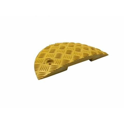 Fartbump, slut gul, h. 75 mm