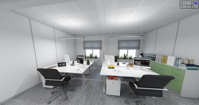 #3D \n#Moduler\n#Pavilloner\n#Expandia\n#Midlertidlig\n#Kontor