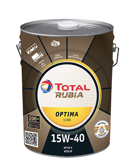 Rationalisere antallet af motorolier med motorolie fra Total - Total, motorolie, transport, rubia optima, smøremiddel