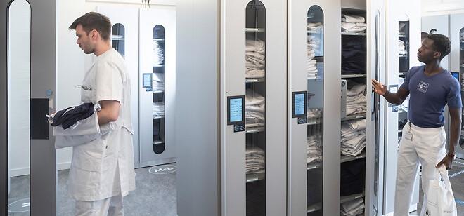 TEX -skabene er elektronisk udlevering af arbejdstøj til alle brancher.