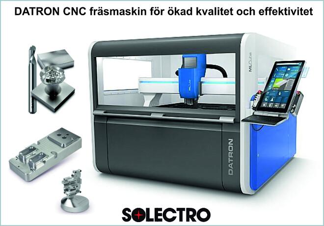 CNC fräsmaskin för att fräsa i aluminium, plast, komposit, mässing, guld mm