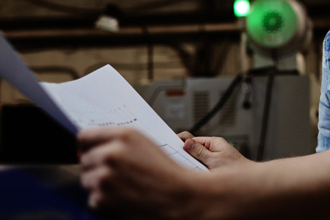 Industri 4.0  begynd med at digitalisere papirarbejdet
