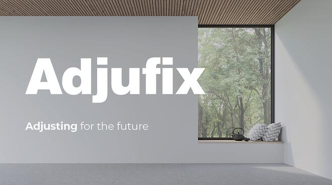 Adjufix, tillverkare av karminfästning, är aktuella med nytt utseende - lanseras senare under 2021