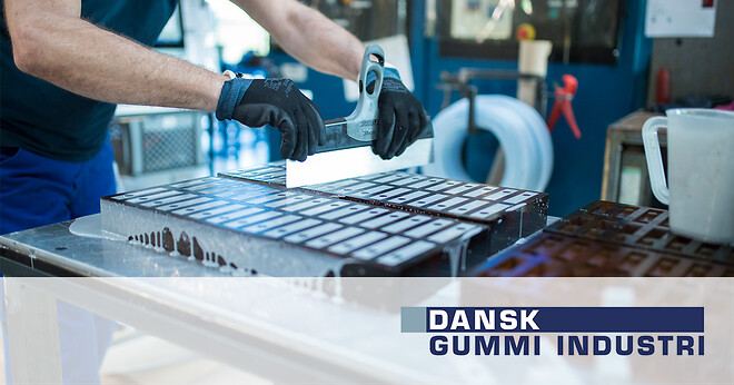 Formstøbt polyuretan gummi pur Dansk Gummi Industri