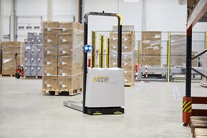 Nipper AGV automated guided vehicle