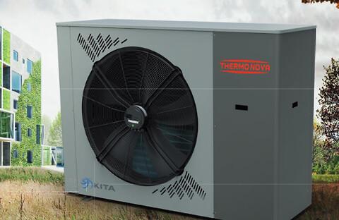 Luft-vand varmepumper er alsidige