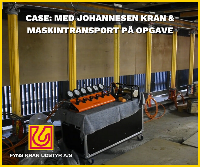 Johannesen Kran & Maskintransport Fyns Kran Udstyr