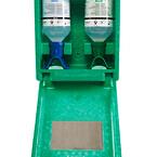 Øjenskylleflasker i boks til vægmontering