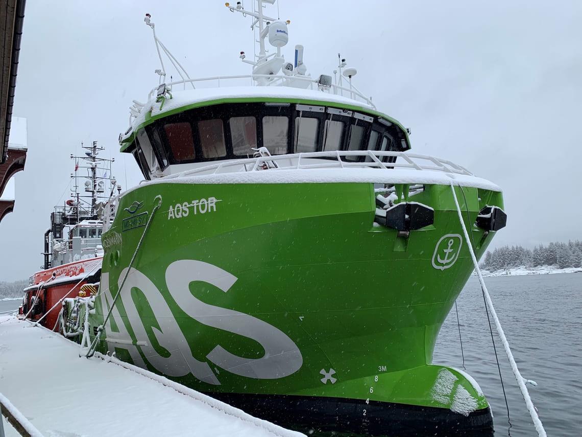 AQS arbeidsbåt