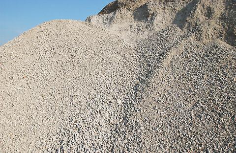 Knust asfalt, Knust blandingsgods og knust beton på lager igen